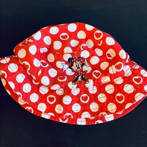 Toddler Minnie Mouse Disney Parks Bucket Hat